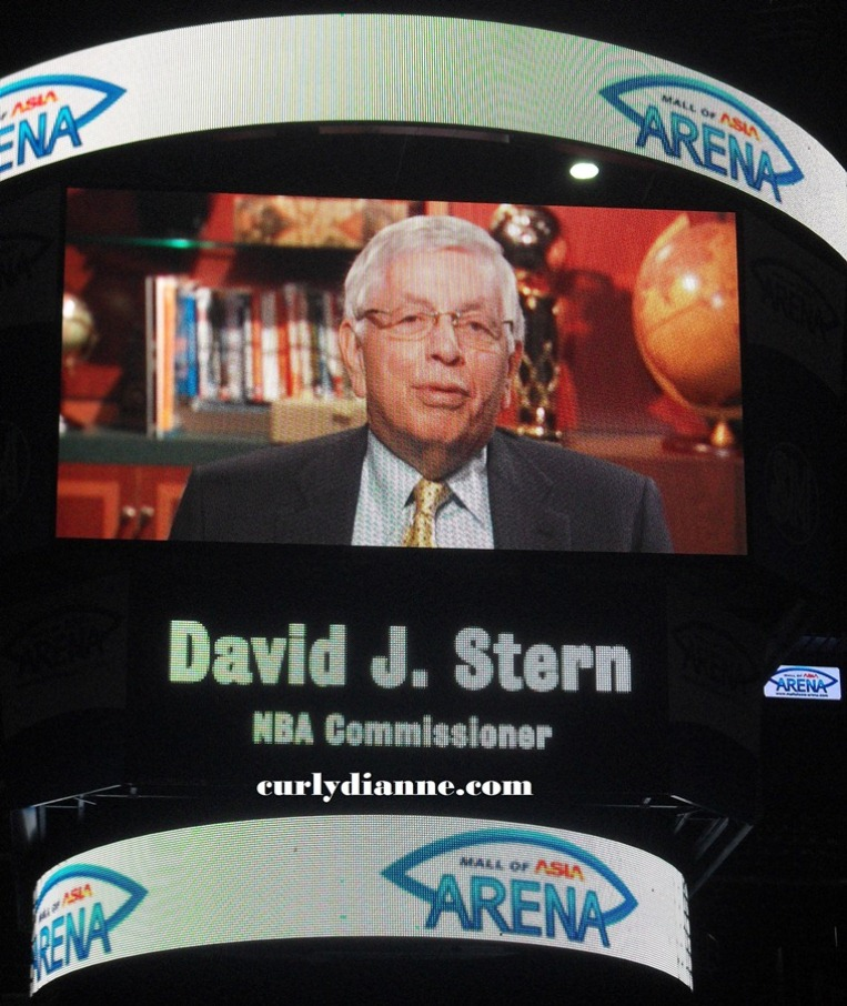 NBA Commissioner David J. Stern