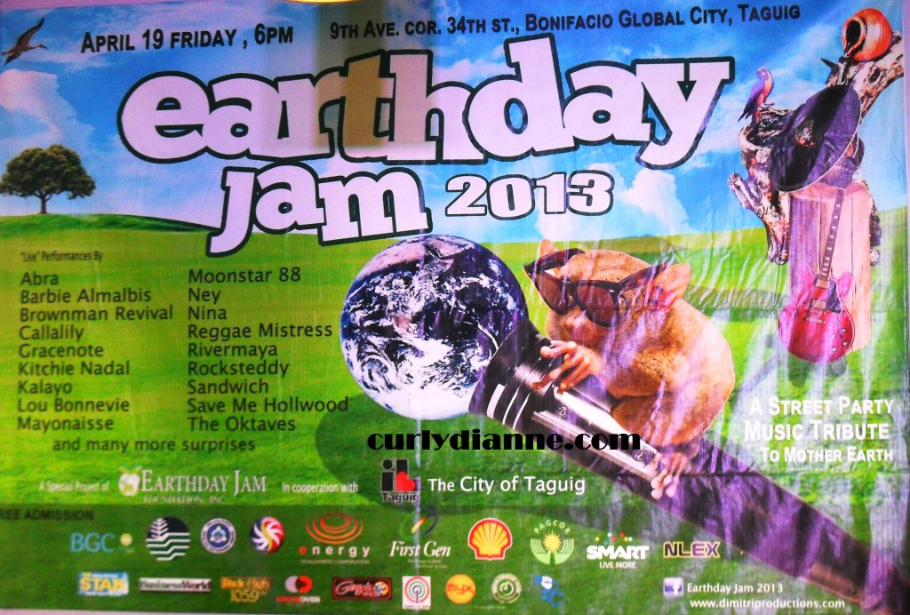 Earth Day Jam 2013