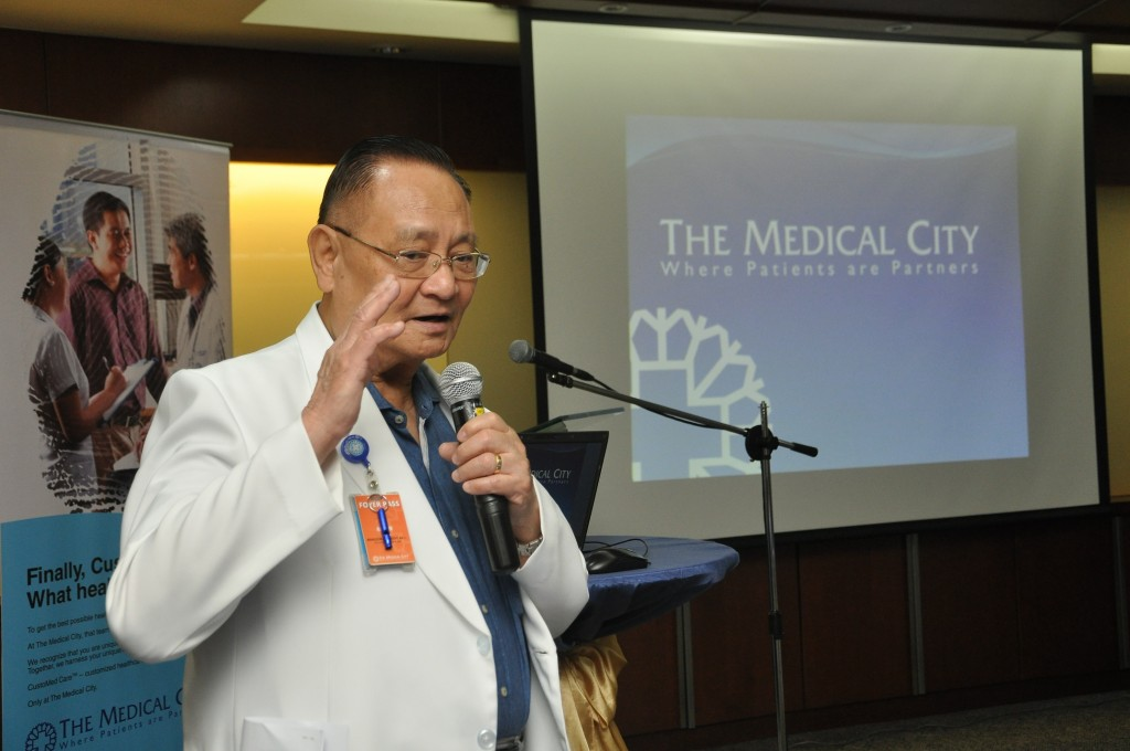 Dr. Alfredo R.A. Bengzon, M.D., M.B.A., President and Chief Executive Officer of The Medical City.