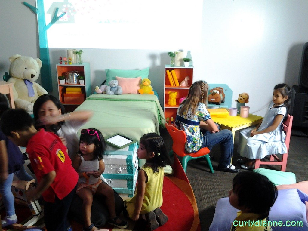 "Ms Nanette Santos narrated the first story about ""Juju, Looloo & Baby Wuwu."""