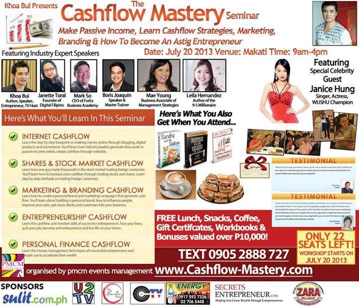 The Cash Flow Seminar