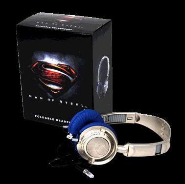 headphones man of steel