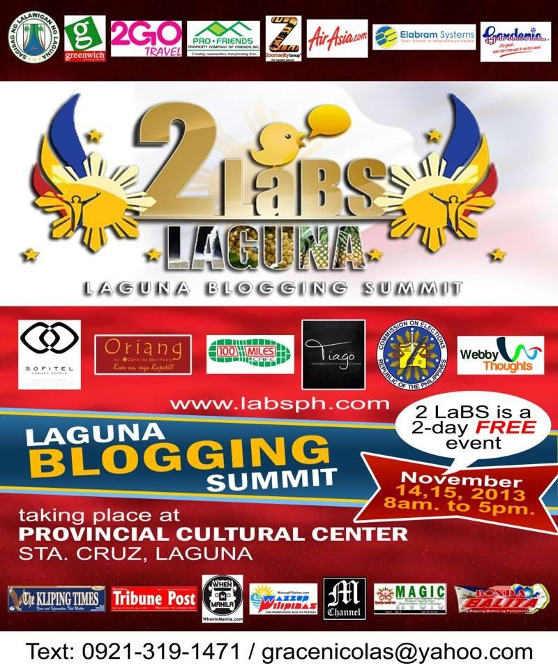 2nd Laguna Blogging Summit