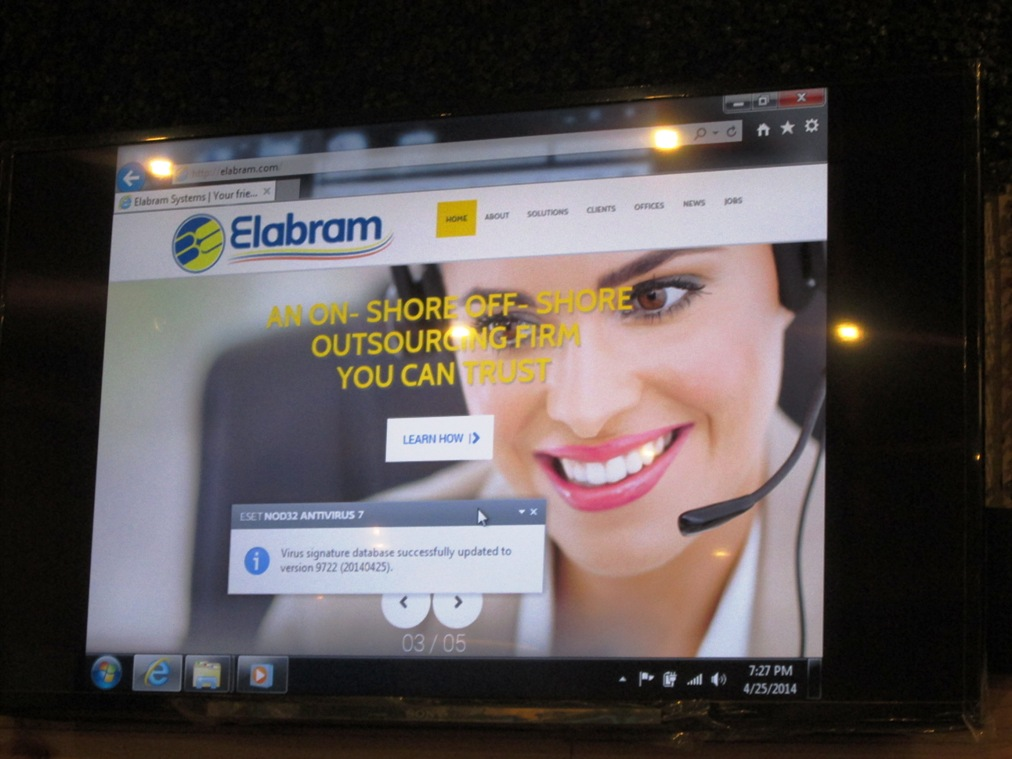 Elabram Website launched in the Philippines