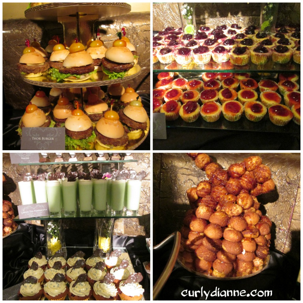 Foods from the event. The caterer of this is Victoria Court too.
