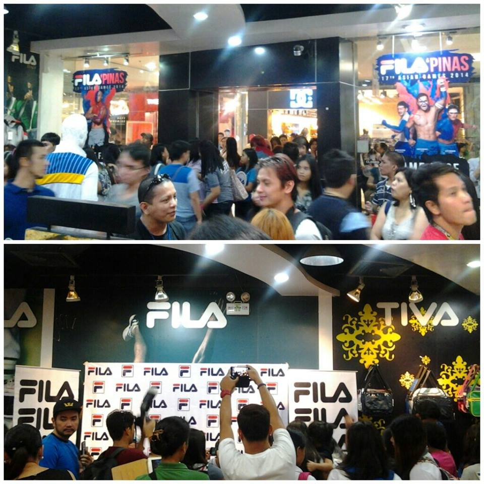 FILA store at SM Megamall