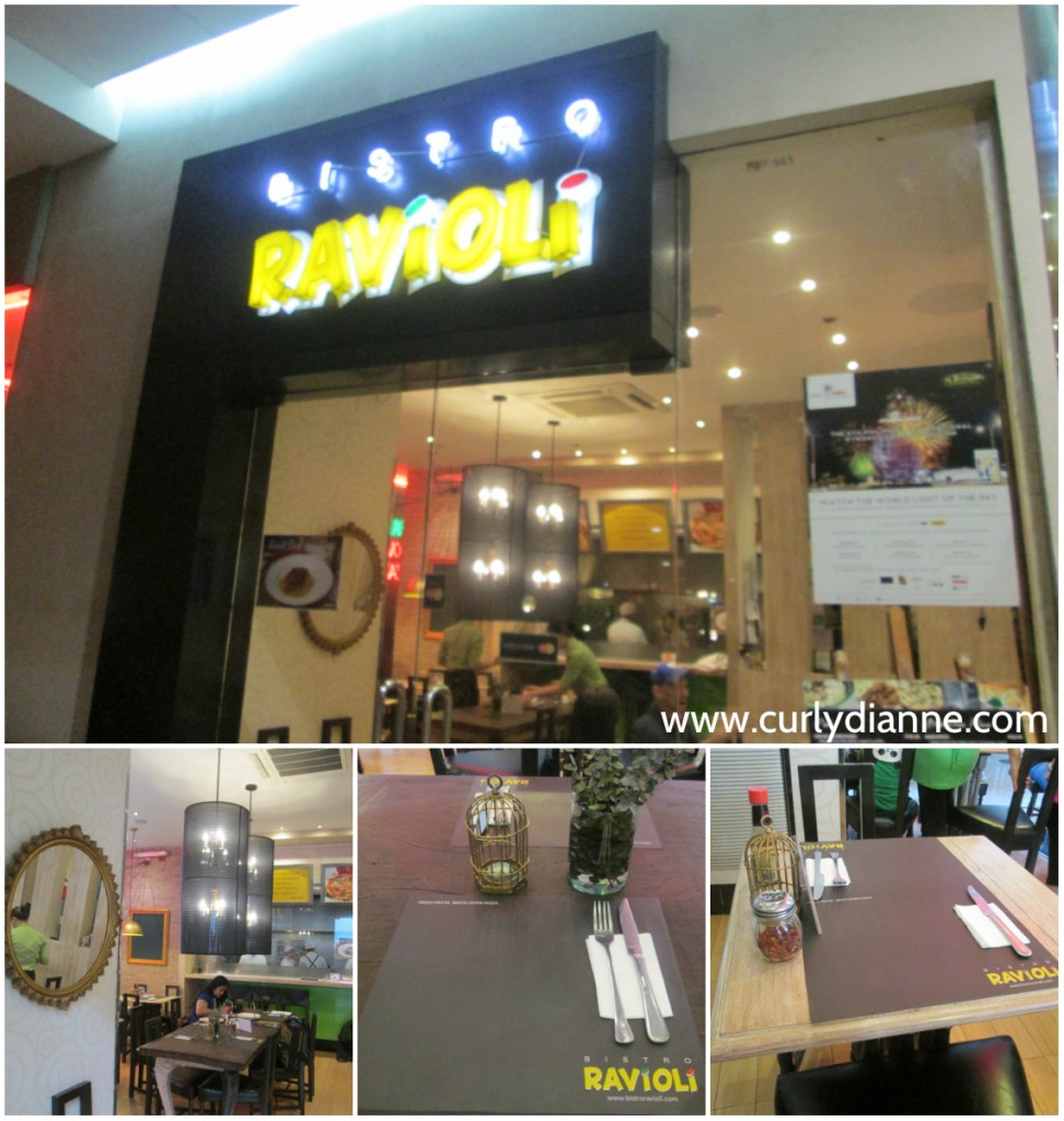 Bistro Ravioli in SM Mall of Asia
