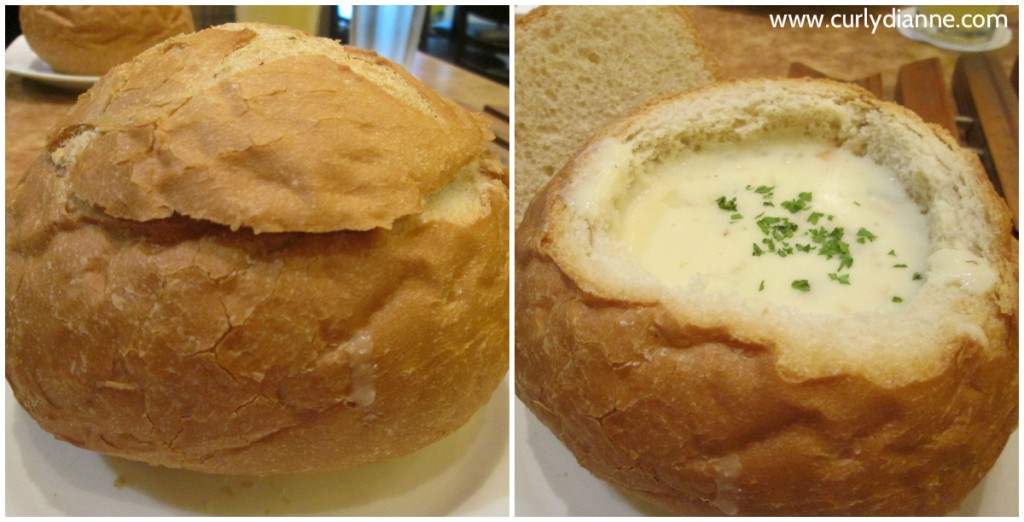 Clam Chow Bread Bowl
