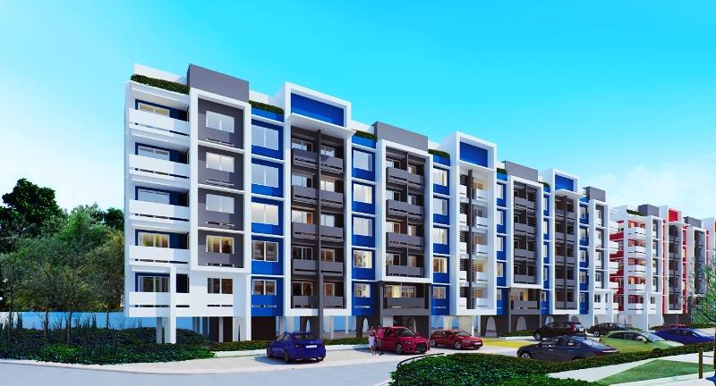Building Facade of Datem Homes Horizons Ortigas