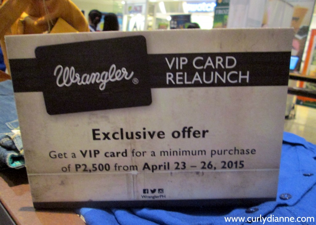 Wrangler VIP Card Relaunch