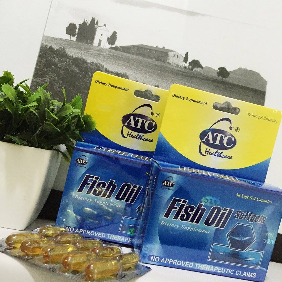 Atc fish oil food supplement for a healthier life for Fish oil for cooking