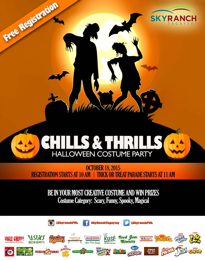 Sky Ranch's Halloween event, Chills and Thrills