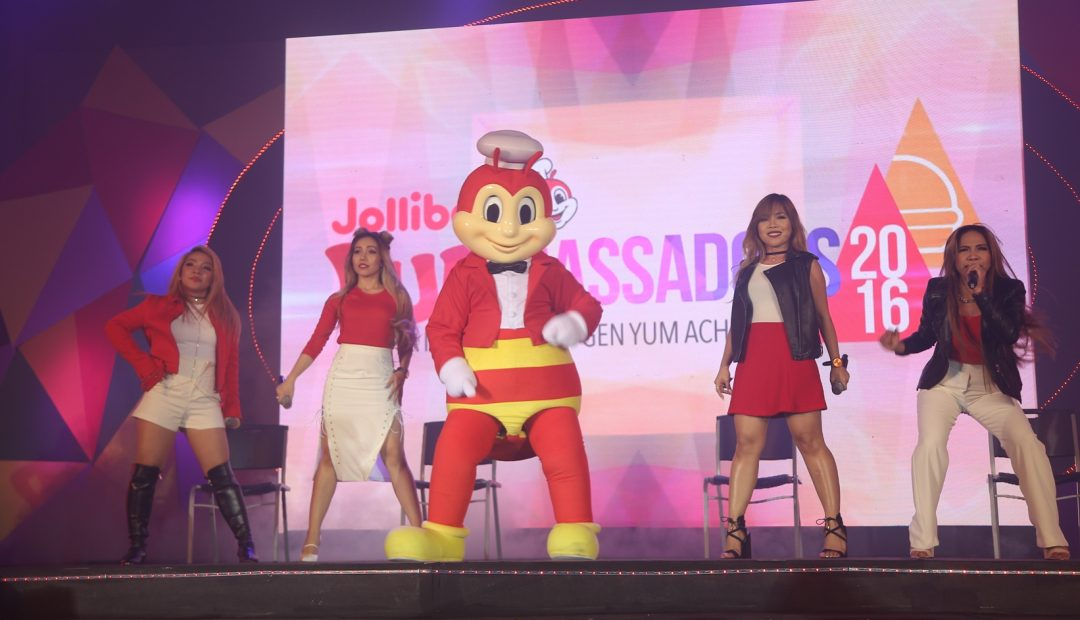 World class performers 4th Impact was joined onstage by Jollibee