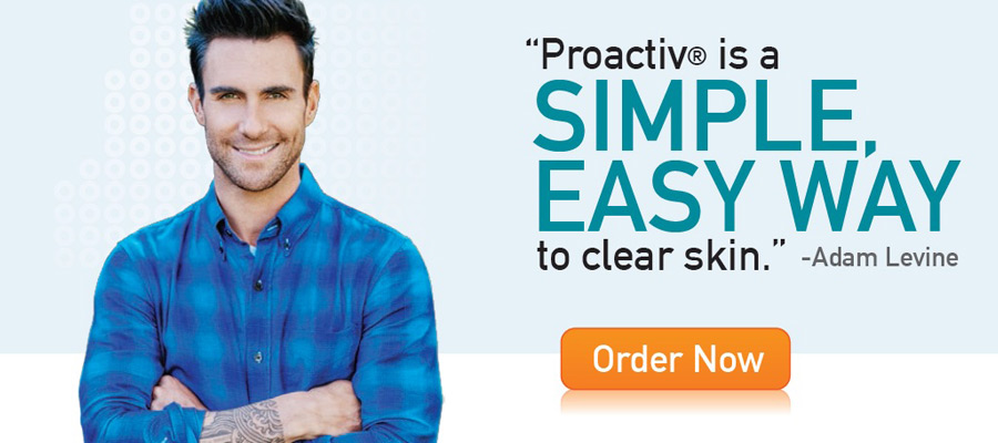 Adam Levine is the new celebrity endorser of Proactiv Philippines