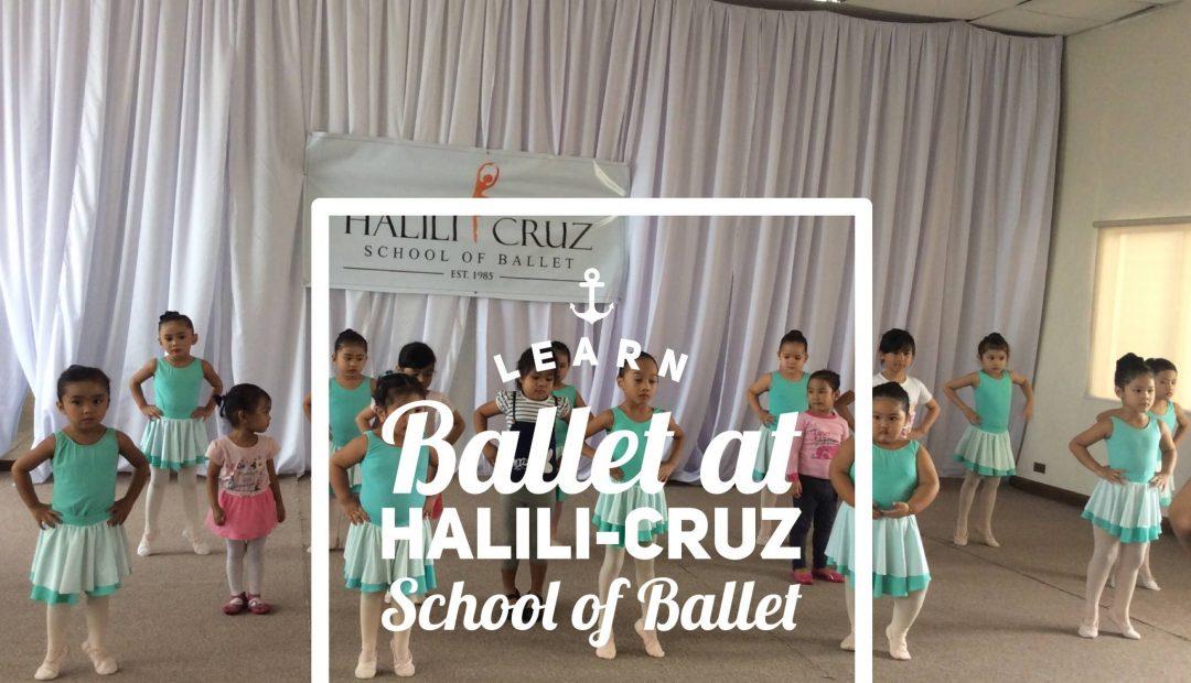 Learn Ballet at Halili-Cruz School of Ballet