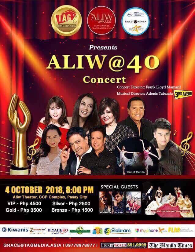 Aliw at 40