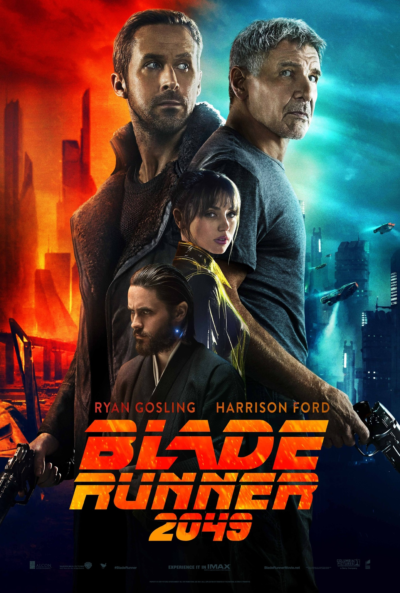 "Blade Runner 2049 is a 2017 neo-noir sequel to the 1982 beloved sci-fi film, ""Blade Runner""."