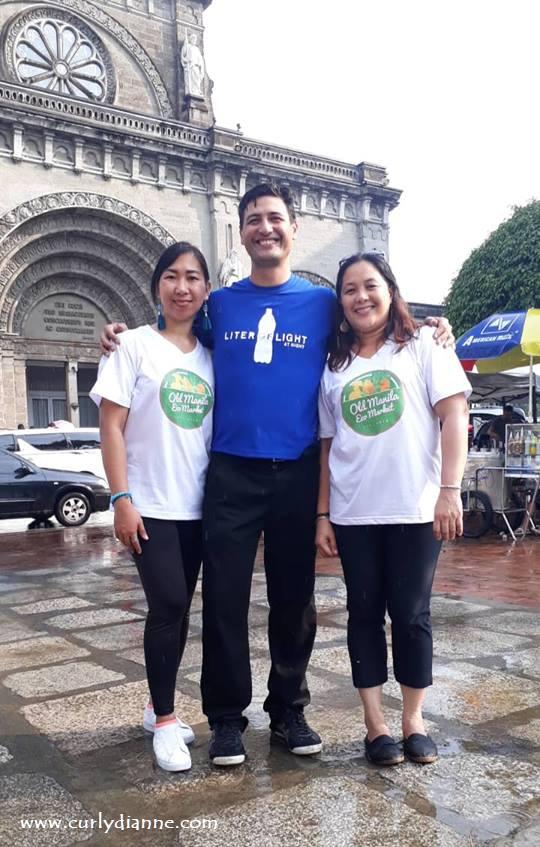 With Shine Castro, Illac Diaz and Sheila Leyva