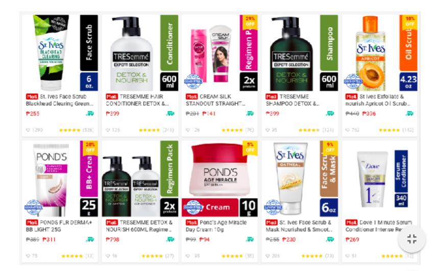 Shopee x Unilever Campaign
